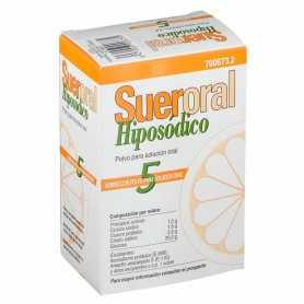 Sueroral Hiposódico Polvo Para Solución Oral 5 Sobres