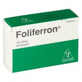 Foliferron 30 Comprimidos Recubiertos