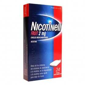 Nicotinell 2 MG Fruit 24 Chicles