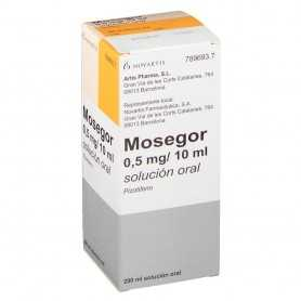 Mosegor 0,5 MG/10 ML Solución Oral 200 ML