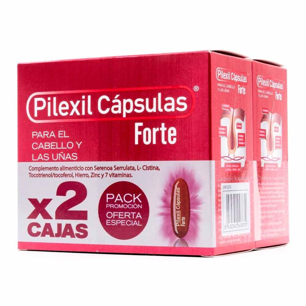 Pilexil Forte Cápsulas Para Cabello Y Uñas 2x100 Unidades