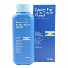 Isdin Zincation Plus 10Mg/4Mg/ML Champú 500 ML