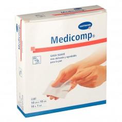 Medicomp Gasa Suave 10 CMx10 CM 10 U
