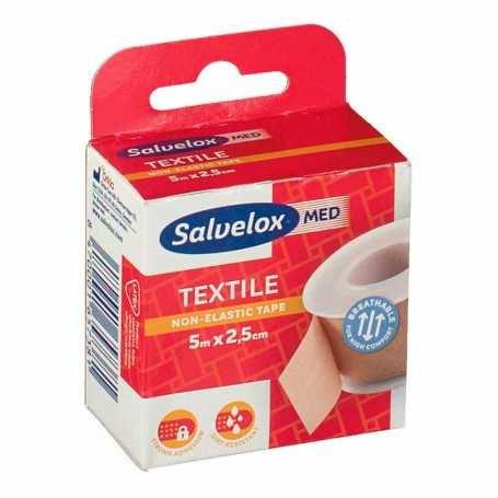 Salvelox Textil Esparadrapo Carne 5Mx2,5CM