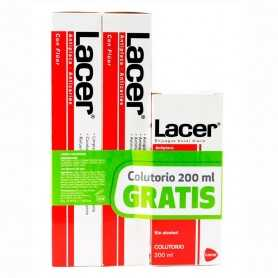 Pack Lacer Pasta 2x125 ML + Colutorio 200 ML