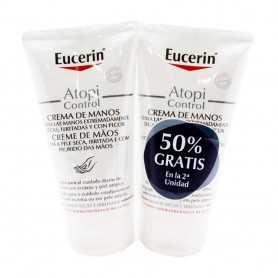 Duplo Eucerin Crema de Manos Atopi Control 2x75 ML