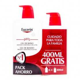 Eucerin Ecopack Gel 1000 ML+400 ML