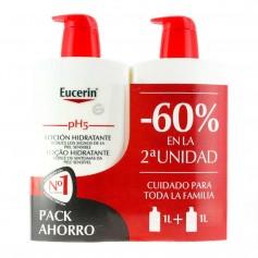 Duplo Eucerin pH5 Loción Hidratante 2x1 L