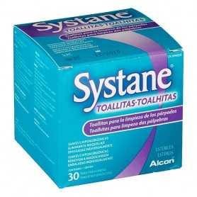 Systane 30 Toallitas Húmedas Estériles