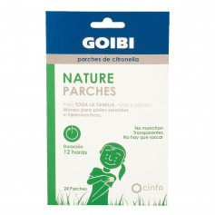 Goibi Nature 24 Parches De Citronella