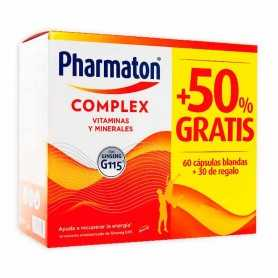 Pack Pharmaton Complex 60+30 Cápsulas