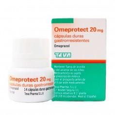 Omeprazol Omeprotect 20 MG 14 Cápsulas (Frasco)