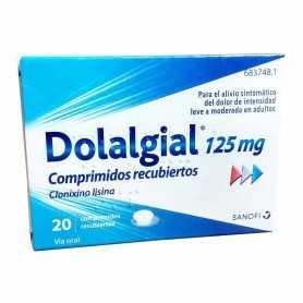 Dolalgial 125 MG 20 Comprimidos Recubiertos