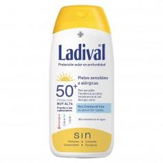 Ladival Piel Sensible O Alérgica Gel Crema Solar SPF50+ 200 ML
