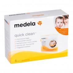 MEDELA QUICK CLEAN BOLSAS ESTERILIZAR 5 U
