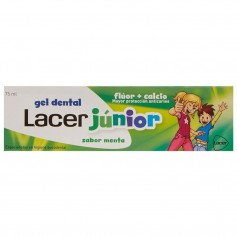 Lacer Junior Gel Dental Menta 75 ML