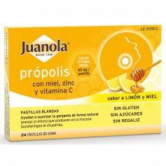 Juanola Própolis Con Miel, Zinc Y Vitamina C 24X60 MG