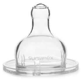 Suavinex Tetina Silicona 3 Posiciones 0 Meses 2 U