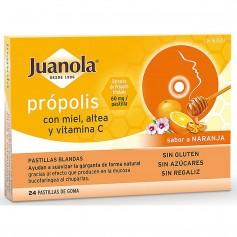 Juanola Própolis Con Miel, Altea Y Vitamina C 24X60 MG