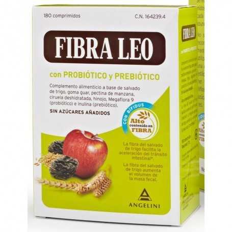 FIBRA LEO CON PREBIOTICO Y PROBIOTICO 180 COMPRIMIDOS