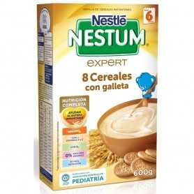 Nestlé Nestum Expert 8 Cereales Con Galleta 600 GR