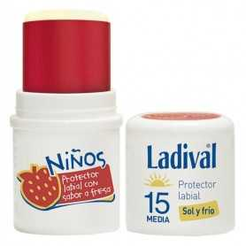 LADIVAL NIÑOS STICK LABIAL SPF15 4 ML