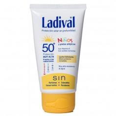 LADIVAL NIÑOS LECHE HIDRATANTE SPF50+ 75 ML