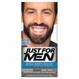 JUST FOR MEN BIGOTE BARBA PATILLAS NEGRO M-55