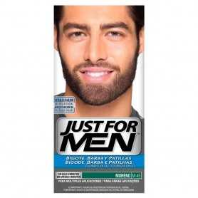 JUST FOR MEN BIGOTE BARBA PATILLAS MORENO M-45