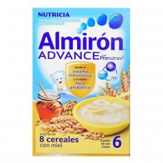 ALMIRON ADVANCE 8 CEREALES CON MIEL 500 GR