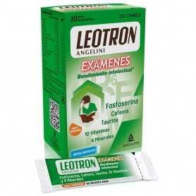 LEOTRON EXAMENES RENDIMIENTO INTELECTUAL 20 COMPRIMIDOS