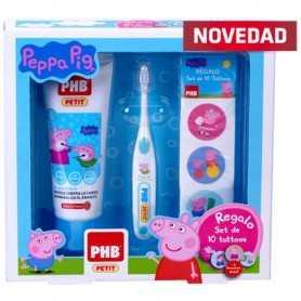 PACK PHB PEPPA PIG GEL 75 ML + CEPILLO + REGALO