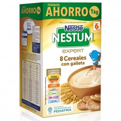 NESTLE NESTUM 8 CEREALES CON GALLETA 1 KG