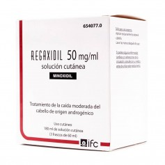 Regaxidil 50 MG/ML Solución Cutánea 180 ML