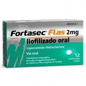 Fortasec Flas 2 MG 12 Comprimidos