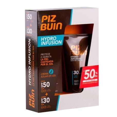 Piz Buin Hydro Infusion Crema en Gel Facial SPF 50+ Cuerpo 30