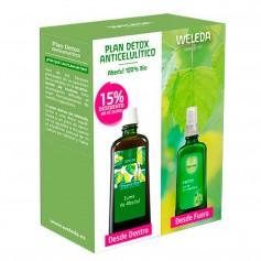 Pack Weleda Detox Aceite Abedul Celulitis + Zumo Abedul