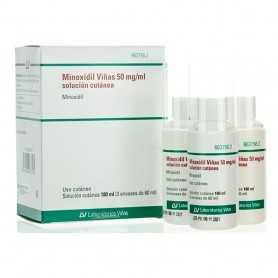 Minoxidil Viñas 50 MG/ML 180 ML
