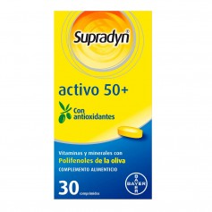 Supradyn Vital 50+ Antiox 30 Comprimidos