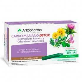 Arkofluido Cardo Mariano 20 Viales 15 ML