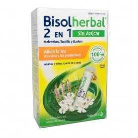 Bisolherbal 2 en 1 sin Azúcar 12 Sticks