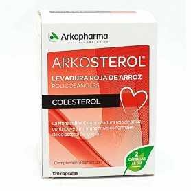 Arkosterol Levadura Arroz Roja 120 Cápsulas