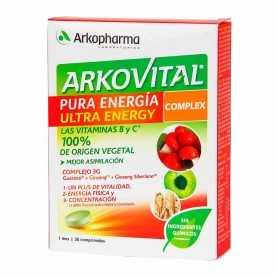 Arkovital Pura Energía Ultra Energy Complex 30 Comprimidos