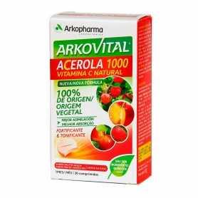 Duplo Arkovital Acerola 1000 VITAMINA C 2x15 Comprimidos