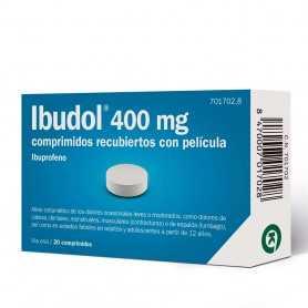IBUDOL 400 MG 20 COMPRIMIDOS RECUBIERTOS CON PELÍCULA