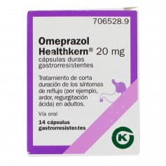 Omeprazol Healthkern 20 MG 14 Cápsulas Gastrorresistentes
