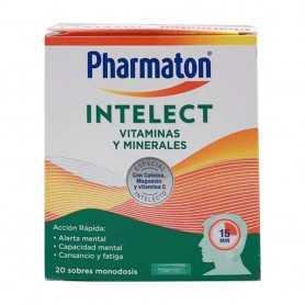 Pharmaton Intelec Vitaminas y Minerales 20 Sobres
