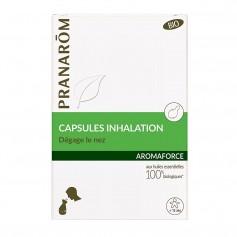 Pranarom Aromaforce para Inhalación Bio 15 Cápsulas