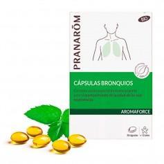 Pranarom Aromaforce Cápsulas Bronquios BIO 30 Cápsulas