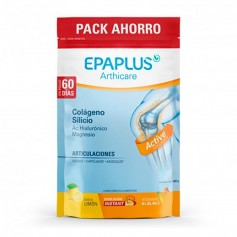 Pack Epaplus Arthicare Colágeno + Silicio + Ac Hialurónico + Magnesio Limón 700 GR